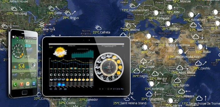 eWeather HD, Barometer, Alerts apk