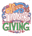 Happy Thanksgiving Day Wishes in English & Cards Icon