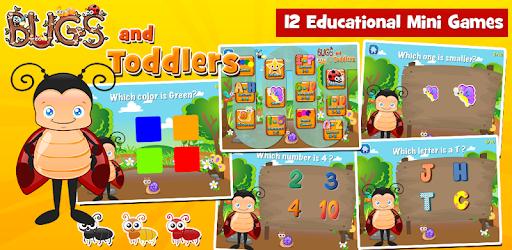 Toddler Games Age 2: Bugs apk