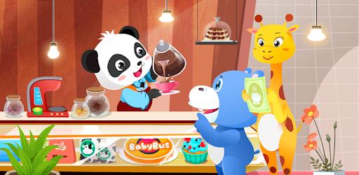 Baby Panda's Café- Be a Host of Coffee Shop & Cook apk