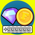 Free FRAG Gold & Diamonds Calc - for Pro Players Icon