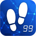 Pedometer - Step counter & calorie burning tracker Icon