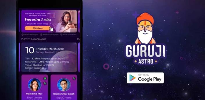 Guruji - Live Astrology, Horoscope, Kundli, Tarot apk
