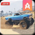 Hillock Offroad Monster Truck Driving 3D Icon