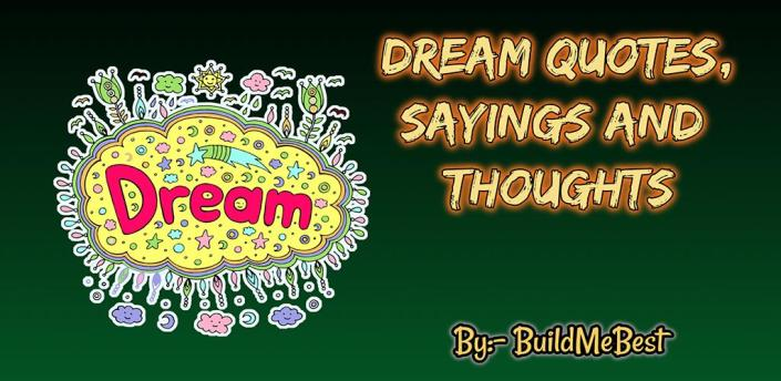 Dream Quotes in English - Best Sweet Thoughts apk