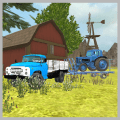 Classic Truck 3D: Tractor Transport Icon