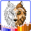 Coloring pages for adults: Animal coloring pages Icon