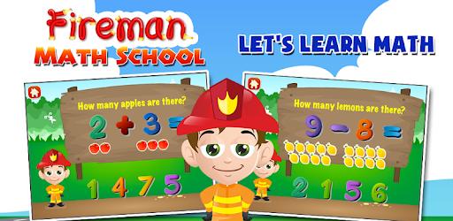 Math Games with the Fireman apk