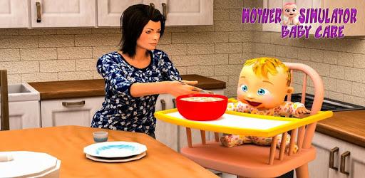 Virtual Mother Simulator: Mom Baby Simulator Games apk
