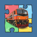 Trains And Railroads Jigsaw Puzzles Icon