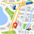 GPS Route Finder  Directions & GPS Navigation Icon