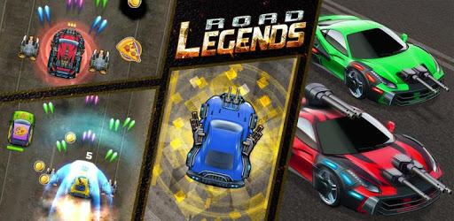 Road Legends - Car Racing Shooting Games For Free apk