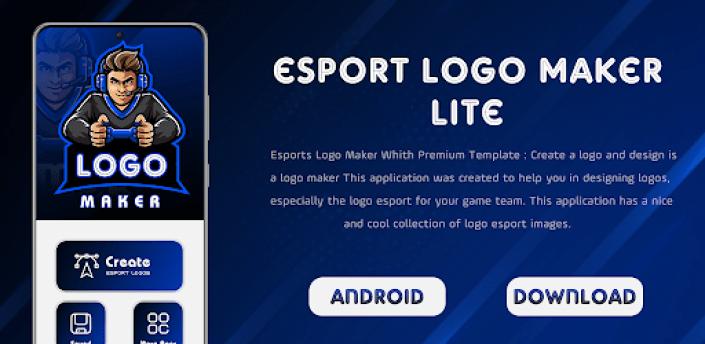 Logo Esport Maker   Create Gaming Logo Maker Lite apk