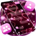 Pink Neon SMS Icon