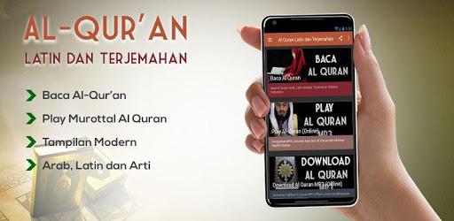 Al Quran Latin dan Terjemahan apk