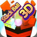 Stack Ball 3D - Helix Jump Crush Challenge Icon