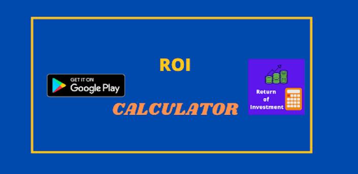 Return On Investment Calculator - ROI Calculator apk