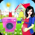 Laundry Girls :Washing Clothes Icon