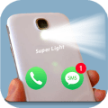 Flash Light alert : Ring & Text Icon