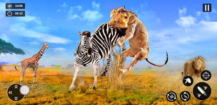 Lion Games Simulator 3D: Wild Animal Games 2021 apk