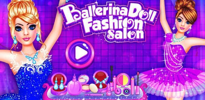 Ballerina Doll Fashion Salon Makeup Dress up Game apk