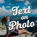 Text on Photo - Photos Text Editor & Text Quotes Icon