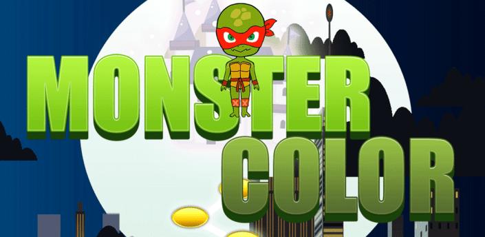 Matching Color Ninja Turtle Heroes Monster Games apk