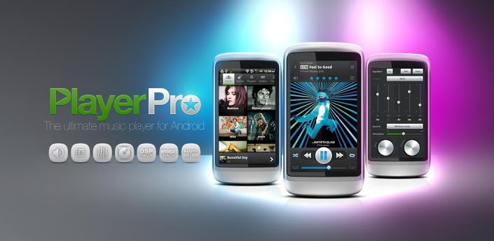 PlayerPro ICS Skin apk