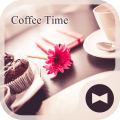 Beautiful Theme Coffee Time Icon