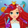Mermaid Beauty Hair Salon Icon