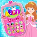 Pink Baby Princess Phone Icon
