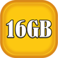 16GB Ram clean master Speed Booster clean master App pro Speed up the phone Icon