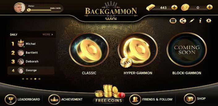 Backgammon - Free Online Game apk