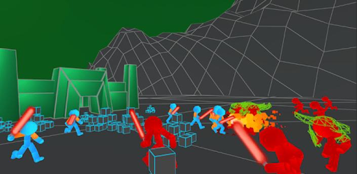 Stickman: Legacy of Neon Warriors apk