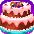 Real Cake Maker - Birthday Party Cake cooking game Icon