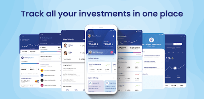 Mutual Fund Tracker - Wealthy apk