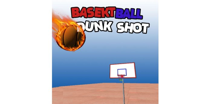 Basketball Dunk shot -game apk