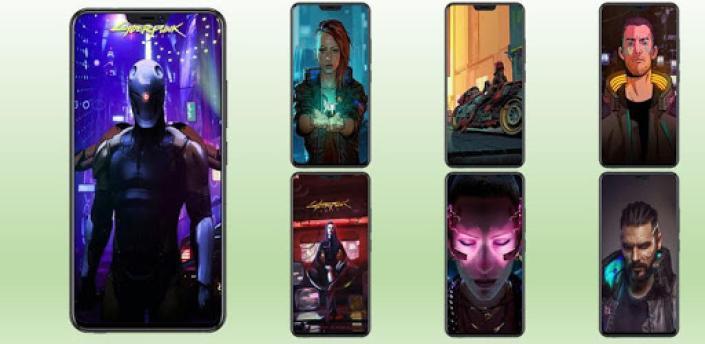 Wallpaper for Cyberpunk HD apk