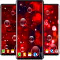 Red Live Wallpaper ❤️ HD Red Bubble Wallpapers Icon