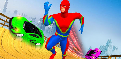 Grand Speed Hero Mega Ramp Car Racing apk
