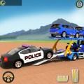 US Police Transporter:Truck Simulator Games Icon