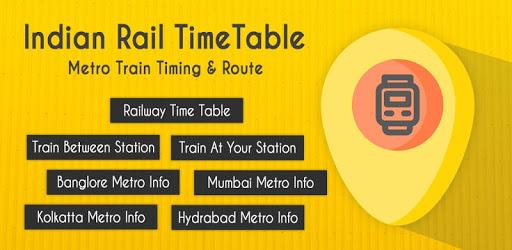 Indian Rail TimeTable - Metro Train Timing & Route apk