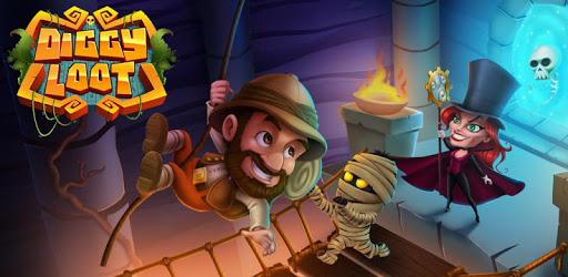 Diggy Loot: Dig Out - Treasure Hunt Adventure Game apk