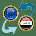 Euro x Iraqi Dinar Icon