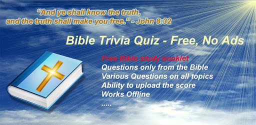Bible Trivia Quiz Free Bible Guide, No Ads apk