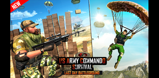 US Army Commando Battleground Shooting Games apk