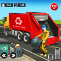 Garbage Truck: Trash Cleaner Driving Game Icon