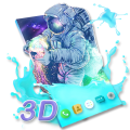 Gravity Astronaut Live Wallpaper Magic Touch 3D Icon