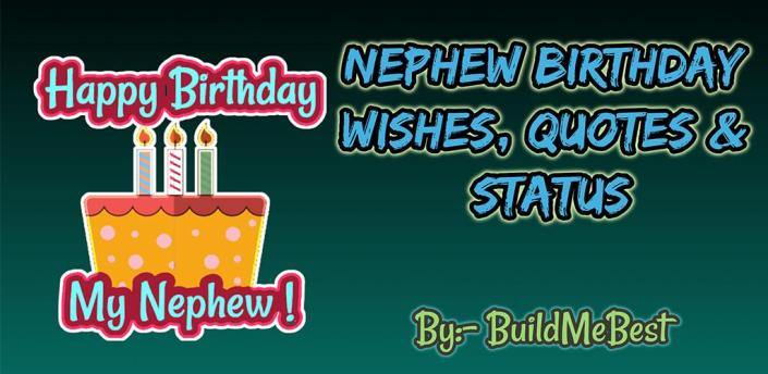 Birthday Wishes for Nephew, Greeting Card Quotes apk