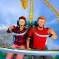 Roller Coaster Simulator Games: Train Stunts Ride Icon